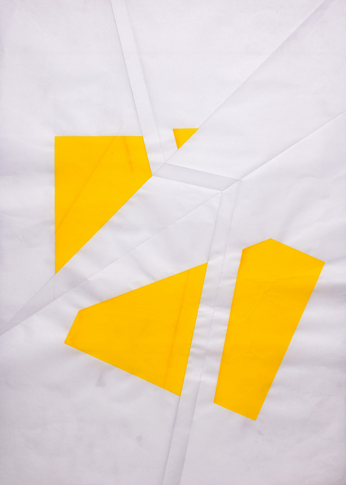 Deconstruction Fold Yellow No.1